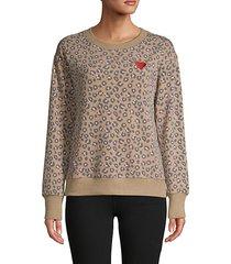 weekending leopard pullover