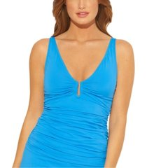 bleu by rod beattie underwire tankini top women's swimsuit