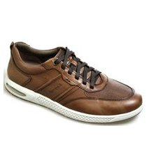 sapatênis masculino ferricelli adaption air ex52615 bronze