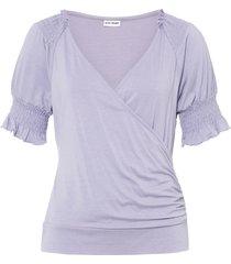 maglia a portafoglio (viola) - bodyflirt
