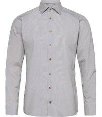 slim fit murrine glass micro print overhemd business grijs eton