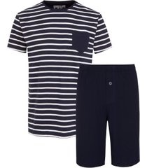 jockey cotton nautical stripe short pyjama 3xl-6xl * gratis verzending *