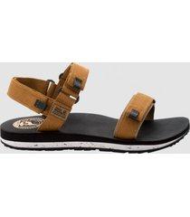 jack wolfskin sandaal men outfresh sandal light brown light grey