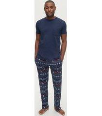 pyjamas melker, set i 2 delar