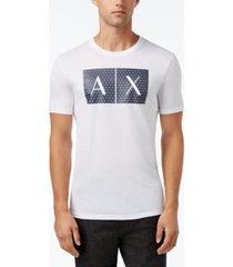 ax armani exchange men's foundation triangulation t-shirt