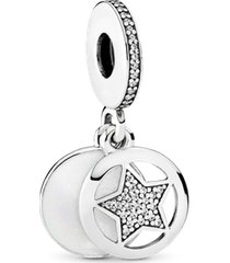 """charm pendente """"my friend a star"""" (minha amiga, uma estrela) -"""