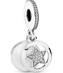 """charm pendente """"my friend a star"""" (minha amiga, uma estrela)"""