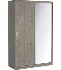 guarda roupa 02 portas de correr c/ 1 espelho 797e1 demolição m foscarini