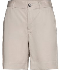 high-rise 8 tencel™ short bermudashorts shorts beige banana republic