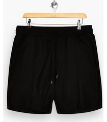 mens black twill shorts