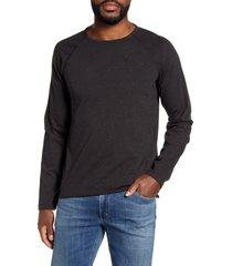 men's billy reid donegal long sleeve t-shirt, size x-large - black