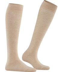 women's falke family knee high socks, size 35/38 - beige