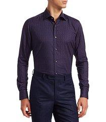 collection multi-color circle print shirt