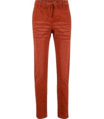 pantalone in velluto boyfriend (marrone) - bpc bonprix collection