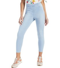 style & co plus size stretch denim leggings, created for macy's