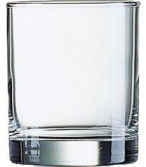 conjunto com 3 copos islande em vidro 380ml luminarc