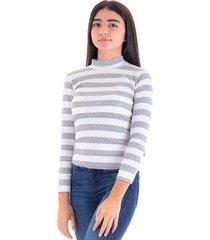 blusa,silueta ajustada gris claro 8 bocared austria 2501002