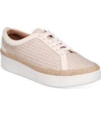 fitflop women's rally basket weave sneakers women's shoes