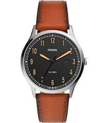 reloj fashion marrón fossil