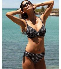 santa monica underwire non padded full cup bikini top