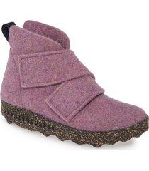 women's asportuguesas by fly london case bootie, size 10-10.5us - purple