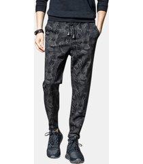 pantaloni di harem camouflage skinny di modo degli uomini