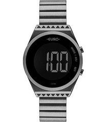 relógio euro digital antique feminino