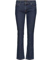 lowe port slimmade jeans blå j. lindeberg
