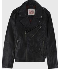 chaqueta negro levis
