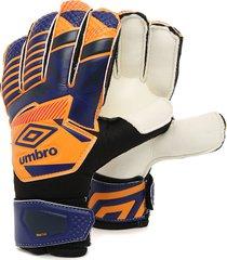 guantes azul-naranja-negro umbro