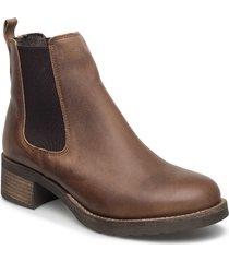 christina wool shoes chelsea boots brun pavement