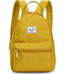 herschel supply co. mini nova backpack - yellow