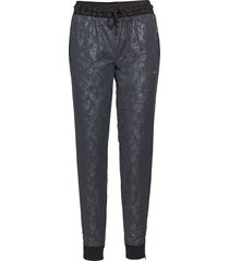 sdx metallic jogger sweatpants mjukisbyxor blå superdry