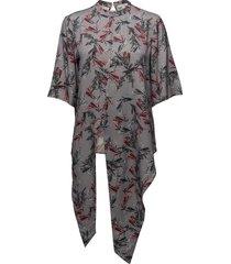 vida blouses short-sleeved multi/patroon dagmar