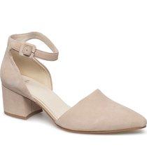 mya shoes heels pumps classic beige vagabond