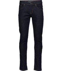 regular fit jeans dark blue slimmade jeans blå shine original