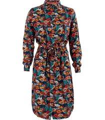 4funkyflavours jurk sunshine blauw