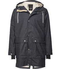 evald 2.0 raincoat regenkleding blauw tretorn
