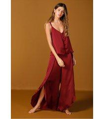 pantalón pijama vinotinto bronzini éxito