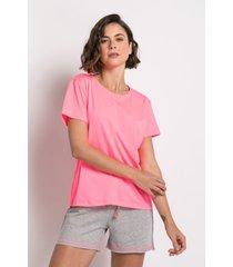 pijama manga curta acuo pijama manga curta rosa