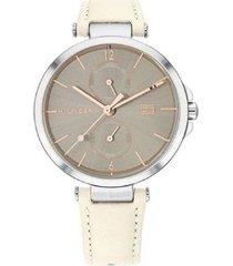 reloj tommy hilfiger 1782123 beige -superbrands