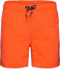 leisure swim shorts badshorts orange h2o
