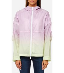 hunter women's original colour haze rp jacket - parchment - l - pink