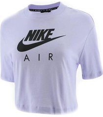 camiseta de mujer lifestyle nike w nsw air top ss