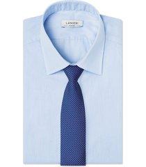 cravatta su misura, lanieri, parigi viola, quattro stagioni | lanieri