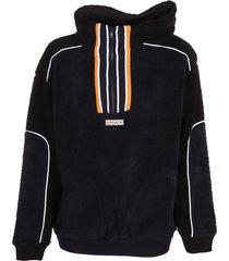 y/project clip shoulder fleece sweater
