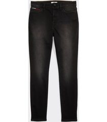 tommy hilfiger women's adaptive dark wash jegging black wash - 6