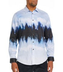 brooklyn brigade men's slim-fit glacier long sleeve shirt