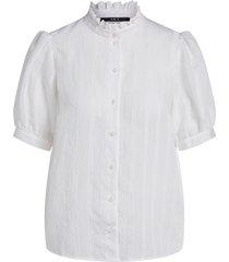 transparante blouse daine  wit