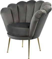 fotel szara muszelka tapicerowany lux-3